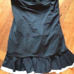 Apt. 9 Swim - Apt 9 Womens One Piece Swimsuit Black/white Sz. M